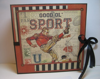 Good ol' Sport Memory Album