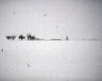 Photo - Minimal Snow #2 - Digital download