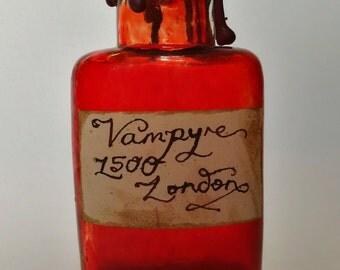 Vampyre Blood Antique Potion Bottle