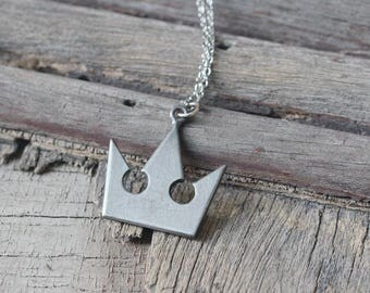 Sora's Necklace inspired by Kingdom Hearts crown necklace