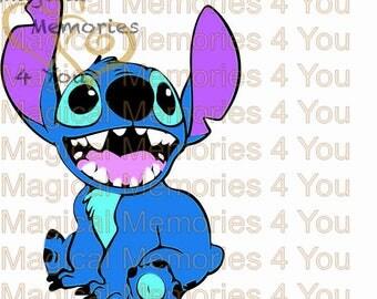 Stitch SVG, Disney inspired svg, eps, cut file, lilo and stitch