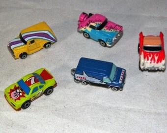 Retro Neon Painted Micro Machines