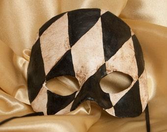 Venetian Style Half-Mask