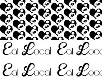 Eat Local Reversible Bibdana Preorder