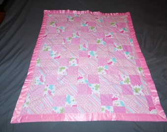 Reversible Baby Blanket / Hand Made
