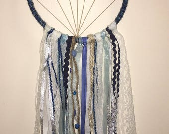 Blue Star Dreamcatcher