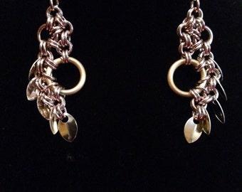 Stepping stone earrings