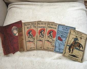 Vintage Book Covers for Crafting > Antique Books > Vintage Lithograph Prints > Decoupage > Scrap Booking > Old Book Covers > Shabby Chic
