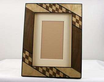 "Handmade picture / photo frame 5 ""x 7"" handcrafted picture frames/photo framing 13x18cm"