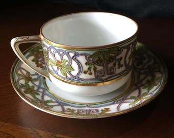 Vintage Nippon Tea Cup and Suacer