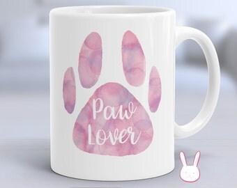 Animal Lover - Animal Lover Gift - Pet Lover - Dog Lover - Cat Lover - Animal Lovers - Paw Lover - Cat Mug - Dog Mug - Pet Owner Gift