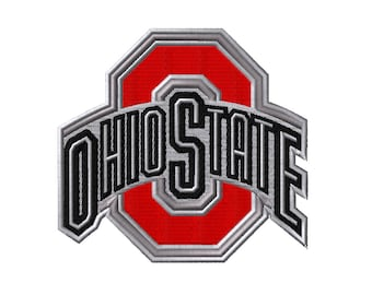 Ohio State Buckeyes Embroidery Designs 4 Sizes College Football Embroidery Designs PES Digital Machine Embroidery Instant Download