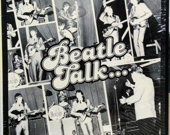 Beatles Beatle Talk Red Robinson Lp McCartney Lennon Starr Harrison SIS