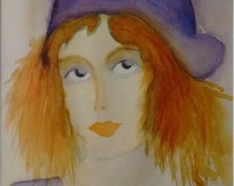 Portrait of a woman: Blandine