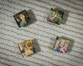 4 Custom Photo Magnets