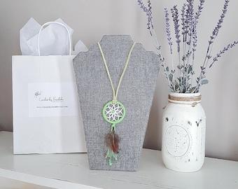 Boho Dreamcatcher Necklace