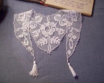 lovely little old collar, lace, child, doll