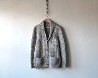 WOOL XASPE SWEATER