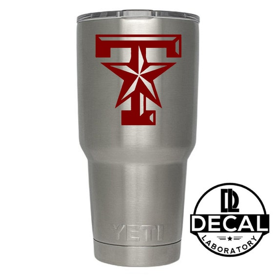 Yeti Decal Sticker - Texas A&M Decal Sticker For Yeti RTIC Rambler Tumbler Coldster Beer Mug