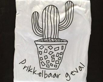 Cactus illustration shirt
