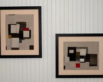 Rare Norio Azuma Serigraphs on Paper