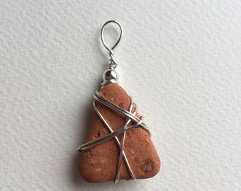 Cornish Pebble Pendant Necklace