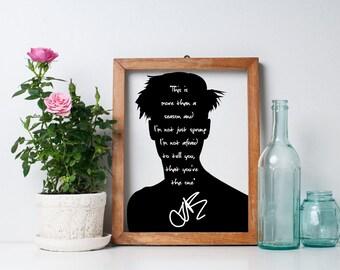 "Justin Bieber ""This Is More Than A Reason"" Art Print"