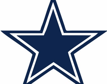 Dallas Cowboys SVG,Football , Logo files by layers - Make Your Own Print Cut Crafts, Shirts, Wall Art, Vinyl Decals,ECT