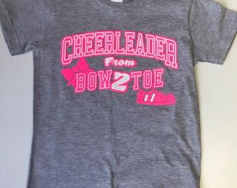 Cheerleader From Bow 2 Toe