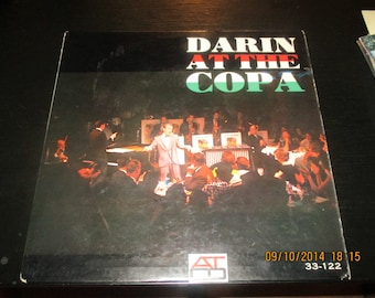 Bobby Darin VG+ vinyl - Darin at the Copa - Album in VG+ Condition.
