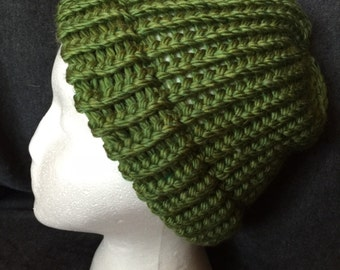 Clover Green Knited Winter Hat