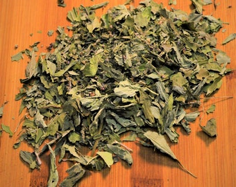 Dried Holy Basil - Certified Organic, Tulsi, Holy Basil, Dried Herb, Herbal Tea, Medicinal, Traditional, Loose Leaf, Ocimum sanctum,Ayurveda