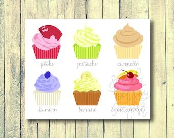 Cupcake Shop (Physical Print)