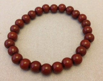 Vintage Brown Bead Bracelet