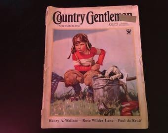 Country Gentleman November 1933