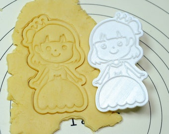 Princess Pia Cookie Cutter and Stamp