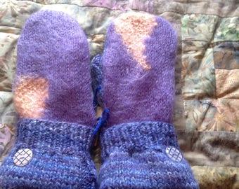 PANCAN Fundraiser sweater mittens