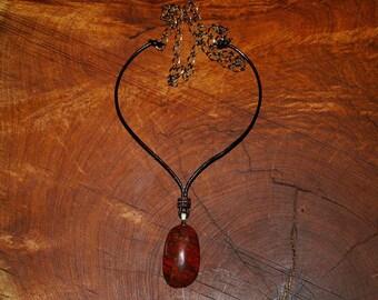 Sonoran Sunrise Cabochon Necklace.