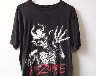 "Vintage WHITE ZOMBIE ""Demon"" t-shirt"