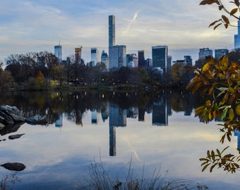 New York City Skyline - From Central Park West