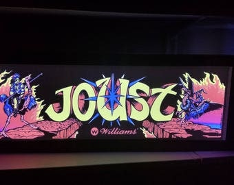 Joust Arcade Style Marquee Light Box