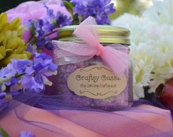 Sugar Scrub 8 oz Wedding Favors (Bulk sets of 10)