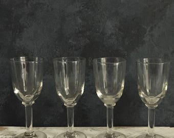vintage sherry/port glasses
