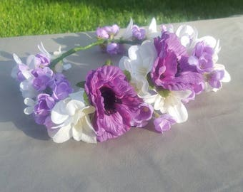 Perfectly Purple Crown
