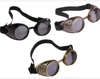 Steampunk goggles/ gothic/ cosplsy/ vintage goggles