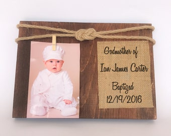 godmother gift godparents picture frame personalized picture frame godmother picture frame godson picture frame