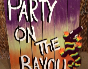 Party on the Bayou