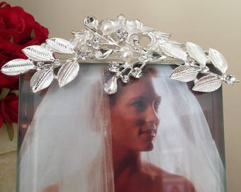 Wedding/Bridal/Jeweled/Adorned/Decorated Picture Frame