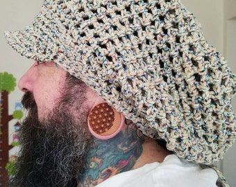 Large Adjustable Dreadlock Hat