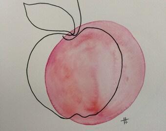 apple beside itself, wall art